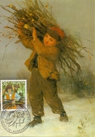 ALBERT ANKER HELVETIA     MAXIMUM   POST CARD  (GENN201492) - Arte