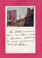 ETATS-UNIS, COLORADO, CASTLE GATE, DENVER, (Art Souvenir Syndicate), Colorisée, 1904, Pliures - Denver