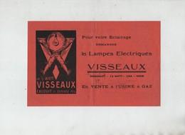 Visseaux Gaz Electricité Belley 1925 Peysson Pollieu Fils Charvet - Publicités
