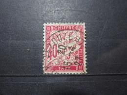 VEND BEAU TIMBRE TAXE DE FRANCE N° 35 !!! - 1859-1955 Oblitérés