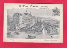 Modern Post Card Of Grand Hotel O`Connor,Nice,Alpes Maritimes, Provence-Alpes-Cote D'Azur, France,P25. - Nice
