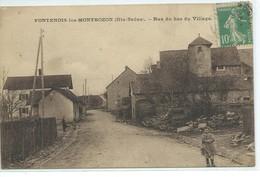 Fontenois-les-Montbozon-Rue Du Bas Du Village - France