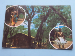 POBLADO INDIO Village Indien Indian (105) > ( Ignacio J. Martinez ) Anno 1998 ( Zie/voir/see Photos ) ! - Paraguay