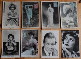 21 CPA / CPSM Actrices & Acteurs - Robinne - Louisa - Viviane Romance - Shirley Temple ... Cinéma / Cabaret - (n°17079) - Attori