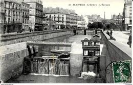 44 NANTES - L' ERDRE  ,  L' ECLUSE - Nantes
