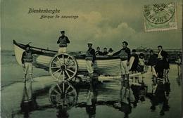 Blankenberge - Blankenberghe / Barque De Sauvetage 19?8 - Blankenberge