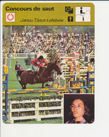 Janou Tissot-Lefebvre Equitation JO Mexico 1968 Concours De Saut Hippique Hippisme Sport équestre1FICH-DIV1 - Sports
