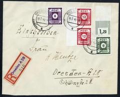 1945, SBZ Ostsachsen, 43 A U.a., Brief - Sowjetische Zone (SBZ)