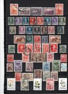 53 TIMBRES ARGENTINE OBLITERES & NEUF SANS GOMME DE 1889 à 1988    Cote : 22,10 € - Oblitérés