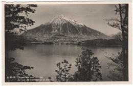 Thunersee Mit Niesen - Le Lac De Thoune Et Le Niesen - (Schweiz/Suisse) - 1938 - BE Berne