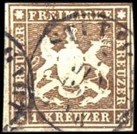 1859, Altdeutschland Württemberg, 11, Gest. - Wuerttemberg