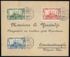 1913, Türkei, 226-28, Brief - Ohne Zuordnung