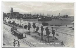 Trieste - Pescheria E Bacino San Marco - Tram. - Trieste