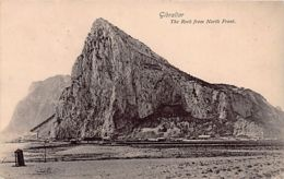 Gibraltar - The Rock From North Front - Publ. Beanland. - Gibraltar