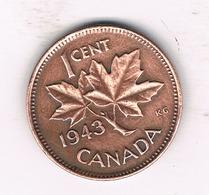 1  CENT 1943 CANADA /786/ - Canada