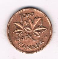 1  CENT 1945 CANADA /787/ - Canada