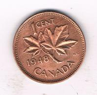 1  CENT 1948 CANADA /788/ - Canada