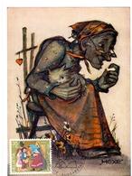 HELVETIA  SWISS HUMMEL HEXE  MAXIMUM   POST CARD  (GENN201528) - Impressionismo
