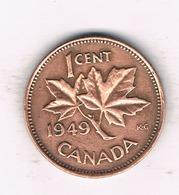 1  CENT 1949 CANADA /789/ - Canada