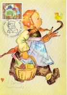 HELVETIA  SWISS HUMMEL   MAXIMUM   POST CARD  (GENN201529) - Impressionismo