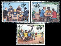 181- Laos 1995  YT 1202 D-F ; Mi# 1488-90 **  MNH  50 Ans Des Nations Unies (ONU) - Laos