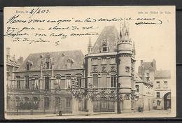 DOUAI   -    1903  .   Aire  De  L' Hôtel  De  Ville. - Douai