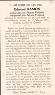 Halluin, Halewijn, Menen, 1955, Edmond Ramon, Verbeeck - Images Religieuses