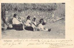 MEXICO - Indigenas - Hunting Lice - Publ. Ruhland & Ahlschier Sucr.. - Messico