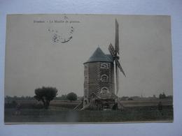 CPA 45 LOIRET - TRAINOU : Le Moulin De Pierres - Frankreich