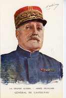 1900. CPA WW1 ILLUSTRATEUR BOUCHOR GENERAL DE CASTELNAU AU QG LE 31 JANVIER 1916 - Personaggi