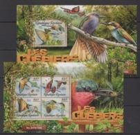 TG014 2016 TOGO TOGOLAISE FAUNA BIRDS LES GUEPIERS BEE-EATERS KB+BL MNH - Oiseaux