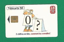 08 / 1996 NUMÉROTATION A 10 CHIFFRES UNITÉS 50  PUCE GEM 1 - Telecom Operators