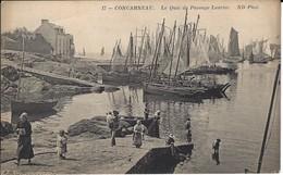 CPA-CONCARNEAU- Le Quai Du Passage Laurine - Concarneau