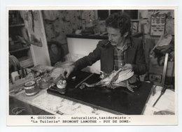 - CPM BROMONT LAMOTHE (63) - M. GUICHARD, Naturaliste, Taxidermiste - La Tuilerie - - Francia
