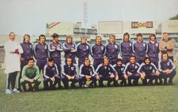 Anderlecht 1970s European Football Squad Postcard - Soccer