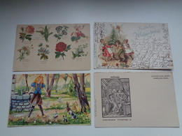 Beau Lot De 20 Cartes Postales De Fantaisie    Mooi Lot 20 Postkaarten Van Fantasie   -  20 Scans - Ansichtskarten