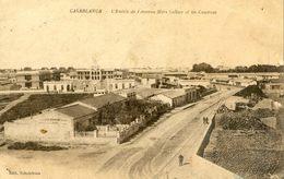 Maroc - Casablanca - L'Entrée Et L'Avenue Mers Sultan Et Les Casernes - Casablanca