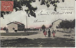 CPA-SALIN DE GIRAUD- SOLVAY- Avenue De La Gare - Autres Communes