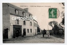 - CPA PORTSALL (29) - Hôtel Des Baigneurs à Kersaint 1908 (avec Personnages) - Collection Labat - - France