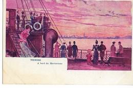 Rare VENISE Italie A Bord Du Mareorama (attraction Exposition Universelle 1900)  Dos Non Divisé  ....  .G - Exposiciones