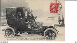 Paris Nouveau : Les Femmes Chauffeur . Mme Decourcelle , La Cochere - Chauffeur . - Taxis & Fiacres