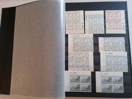 Faroe Islands Complete Collection Block Of 4 MNH ** 1975-1992, Catalog Value Above 1100€ - Féroé (Iles)