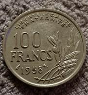 100 Francs 1958 Chouette Cochet - N. 100 Francs