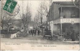 CPA-LUYNES- Route De Gardanne - Luynes