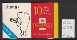 Grande Bretagne - Great Britain - Yvert C1851a - Scott#1652a - Carnets