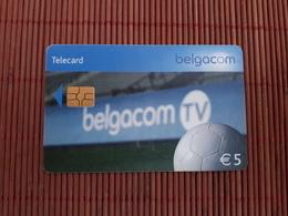 Phonecard Football Belgium Used - Avec Puce