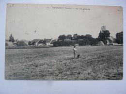 CPA 45 LOIRET - VENNECY : Vue Générale - Frankreich
