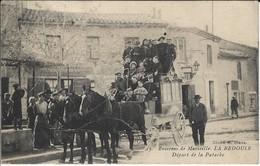 CPA-LA BEDOULE- Départ De La Patache (Aubagne- Cassis) - Autres Communes