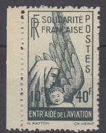 #141 COLONIES GENERALES POSTE AERIENNE N° 1 ** - France (former Colonies & Protectorates)