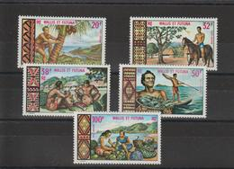 Wallis Et Futuna 1969 PA 33-37 5 Val * Charn. - Ungebraucht
